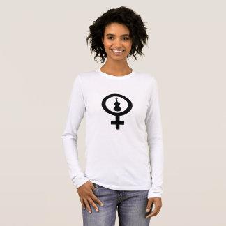 金星のビオラ 長袖Tシャツ