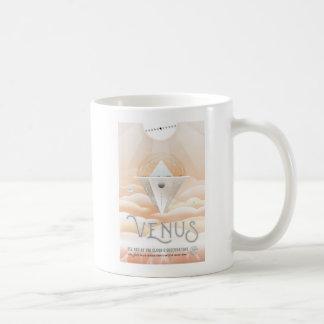 金星の宇宙旅行の休暇 コーヒーマグカップ