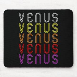 金星の惑星のレトロのヴィンテージの天文学のTシャツ マウスパッド