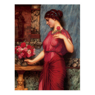 金星の油絵に提供 ポストカード