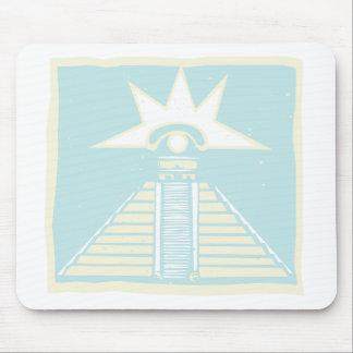 金星の目のグリフのマヤのピラミッド マウスパッド