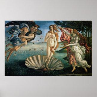 金星の誕生 ポスター