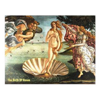金星の誕生 ポストカード