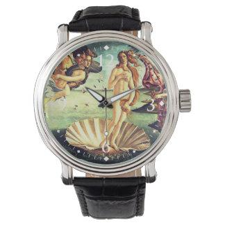 金星の誕生 腕時計