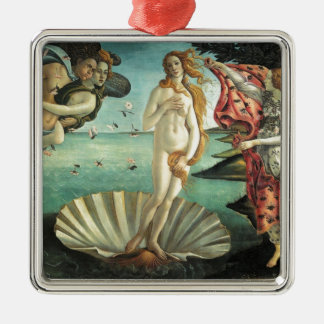 金星の誕生- Botticelli著クラシックな芸術 メタルオーナメント