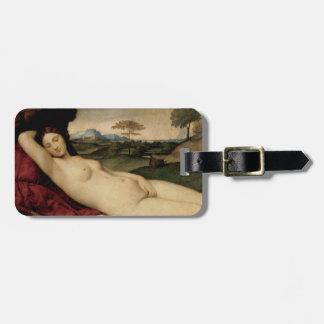 金星睡眠(Giorgione著) ラゲッジタグ