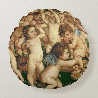 金星1519年の崇拝 ラウンドクッション