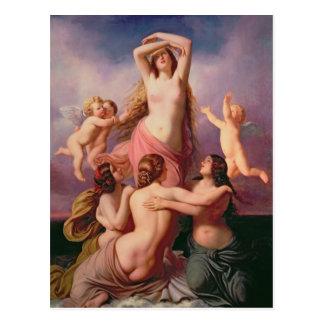 金星1846年の誕生 ポストカード