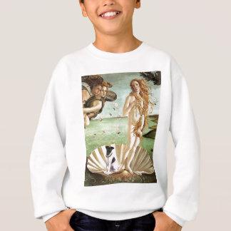金星-滑らかなフォックステリア犬の誕生 スウェットシャツ
