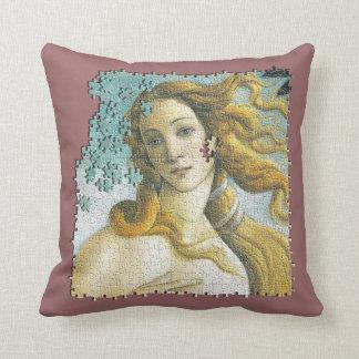 金星Botticelliのジグソーパズル クッション