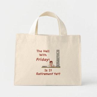 金曜日のトートバックとの地獄 ミニトートバッグ