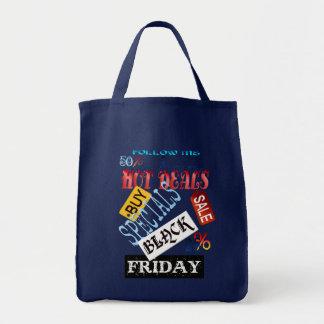 金曜日の私黒いバッグを後を追って下さい トートバッグ