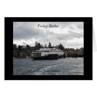 金曜日港、サンファン島 カード