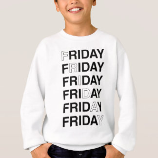 金曜日 スウェットシャツ