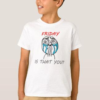 金曜日 Tシャツ