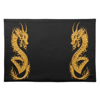 金東洋のドラゴン02 ランチョンマット