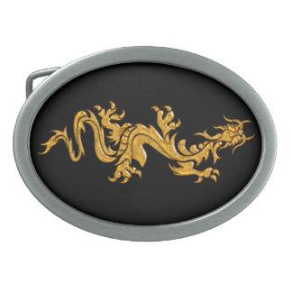 金東洋のドラゴン03 卵形バックル