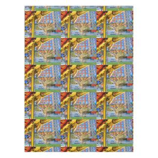 """金植物の装飾ボストン52"""" x70""""テーブルクロス テーブルクロス"""
