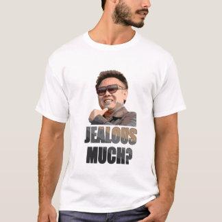 金正日: 嫉妬深い多くか。 Tシャツ