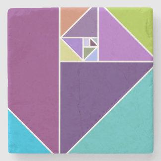 金比率の三角形 ストーンコースター