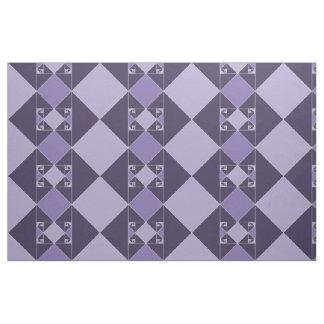金比率の三角形(紫色) ファブリック