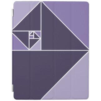 金比率の三角形(紫色) iPadスマートカバー