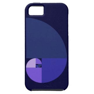 金比率、フィボナッチ螺線形 iPhone SE/5/5s ケース