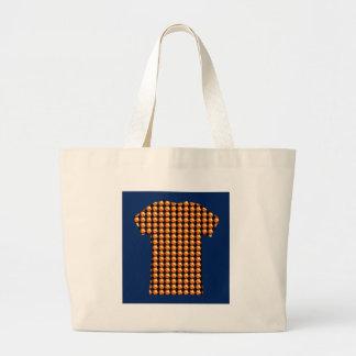 金水晶パターン芸術の治療の挨拶のギフト ラージトートバッグ