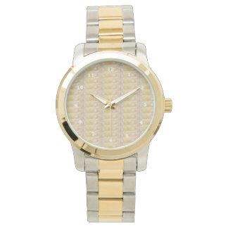 金水晶輝きの窓ガラスの低価格のギフトのおもしろい 腕時計