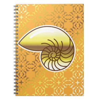 金海の貝のオウムガイ ノートブック