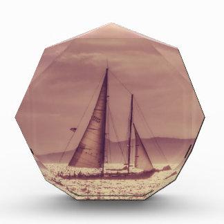 金海を渡って航海 表彰盾