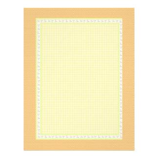 金点検の正方形: 特別で柔らかい色 レターヘッド