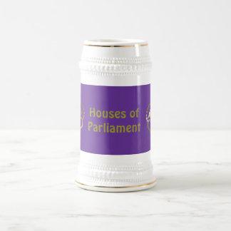 金王冠のマグ-ウエストミンスターの宮殿 ビールジョッキ