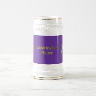 金王冠のマグ-王室のなミント ビールジョッキ