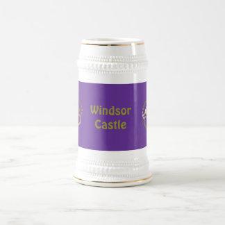 金王冠のマグ- Windsorの城 ビールジョッキ