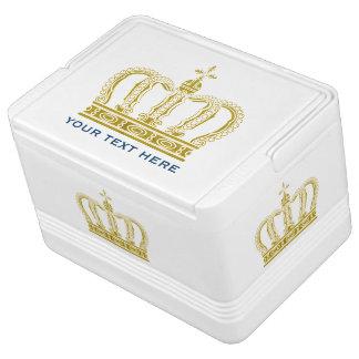 金王冠 + あなたの文字 IGLOOクーラーボックス