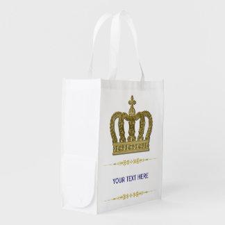金王室のな王冠II + あなたのbackgr。 及びアイディア エコバッグ