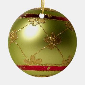 金球体のクリスマスの球のオーナメント セラミックオーナメント