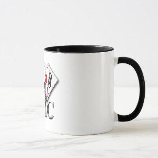 金目当ての連合のマグ-デザイン1 マグカップ