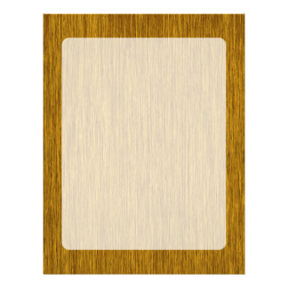 金素朴な粒状の木製の背景 レターヘッド