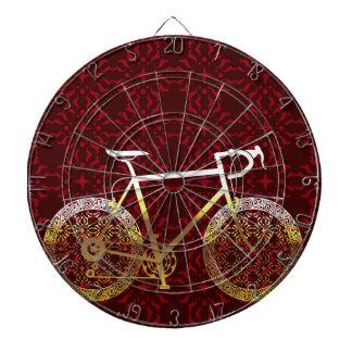 金自転車のベクトル芸術 ダーツボード