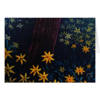 金花の森林 カード