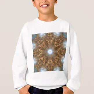 金草原草の万華鏡のように千変万化するパターン スウェットシャツ