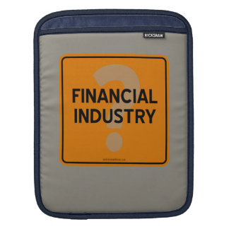 金融業界か。 iPadスリーブ