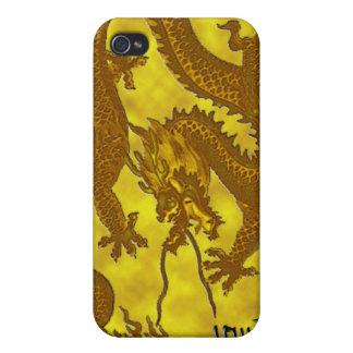 金貨のドラゴン iPhone 4/4Sケース