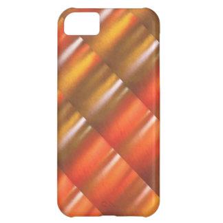 金赤い輝きの陰- ColorCraft iPhone5Cケース