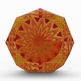 金輝きのチャクラの中国のな東洋の低価格のGI 表彰盾