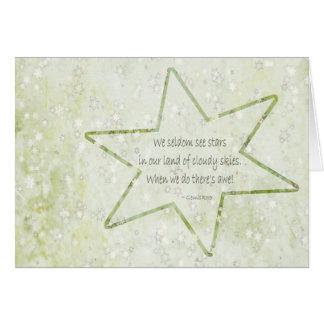 金雲の星の俳句 カード