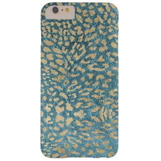 金青いヒョウ BARELY THERE iPhone 6 PLUS ケース