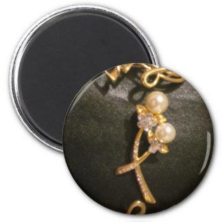 金音符および真珠 マグネット